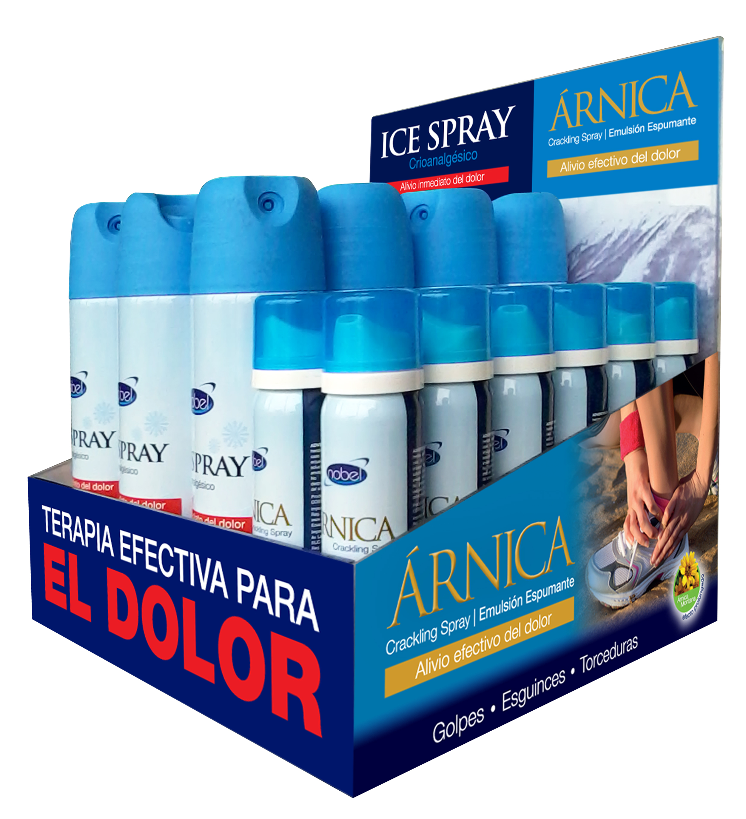 Árnica Crackling Spray